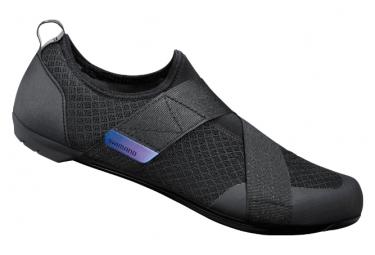Par de Zapatillas de Spinning Shimano IC100 Negras