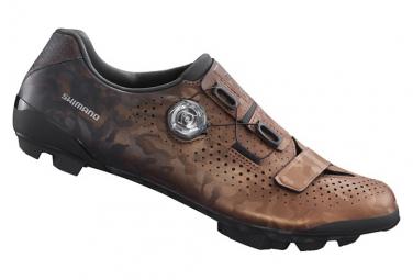Paire de Chaussures Gravel Shimano RX8 Bronze