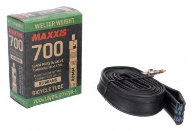 Maxxis Welter Weight 700 mm Inner Tube Presta 48mm
