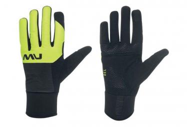 Northwave Fast Gel Handschuhe Schwarz Gelb Fluo