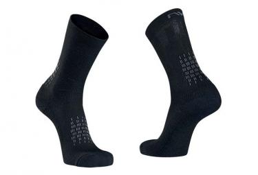Northwave Fast Winter paio di calzini neri grigi