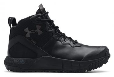 Chaussures de Running Under Armour MG Valsetz Mid Noir