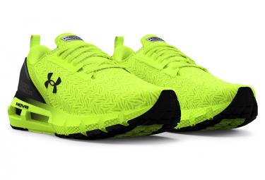 Chaussures de Running Under Armour HOVR Mega 2 Clone Jaune / Noir