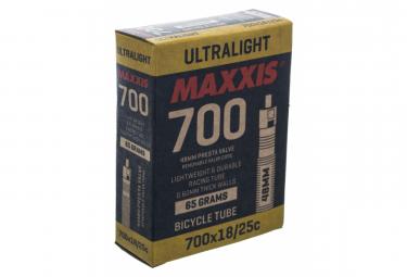 Chambre à Air Maxxis Ultralight 700 Presta 60mm RVC