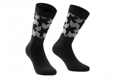 Pair of Assos Monogram Evo Socks Black