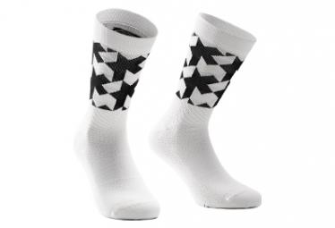 Paar Assos Assosoires Schwarze Socken