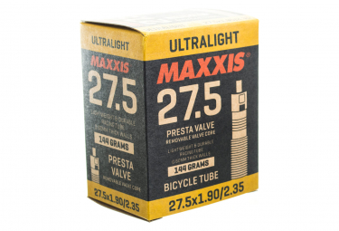 Chambre à Air Maxxis Ultralight 27.5 Schrader