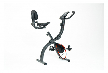 Moma Bikes, vélo d'appartememt Indoor compact et pliant, 4 capteurs cardiaques
