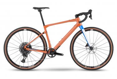 BMC URS 01 Tre Gravel Bike Sram Rival eTap AXS 12V 700 mm Ocra Arancio 2022