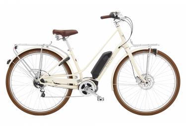 Vélo de Ville Électrique Electra Loft Go! 5i  Shimano Nexus 5V 400 Blanc / Beige 2022