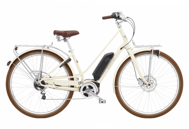 Vélo de Ville Electra Loft Go! 5i  Shimano Nexus 5V Blanc / Beige 2022
