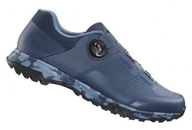 Paia di scarpe da ciclismo Shimano ET700 blu