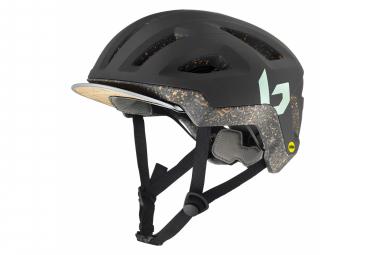 Bollé Eco React MIPS Helm Dunkelgrün Matt