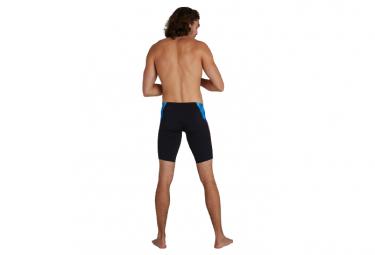 Speedo Placement Digital Jammer Swimsuit Black