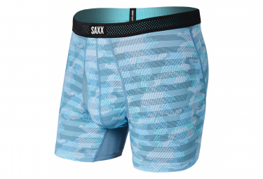 Boxer Saxx Hot Shot Ice Shelf Camo Bleu