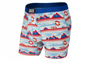 Boxer Saxx Ultra Destination Unknown Bleu