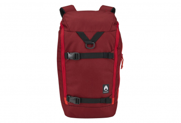 NIXON Hauler 25L Backpack Burgundy / Fire