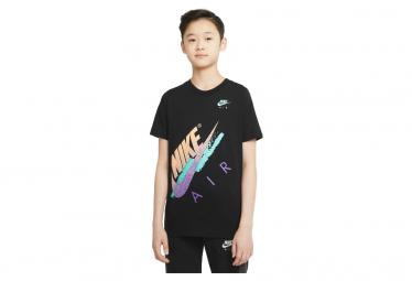 Maillot Manches Courtes Enfant Nike Air Noir