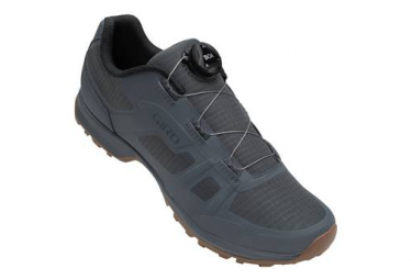 Paia di scarpe MTB Giro Gauge Boa Grigio