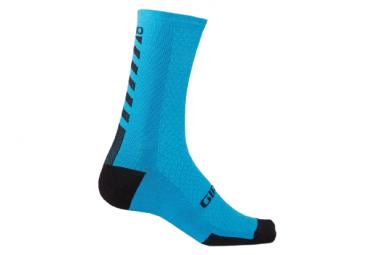Paio di calzini Giro HRC + Winter Merino Wool Blu/Nero