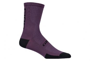 Calcetines Giro HRC+ Winter Merino - Violet / Noir