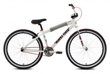 SE Bikes Vans Blocks Flyer 26'' Wheelie Bike White 2021