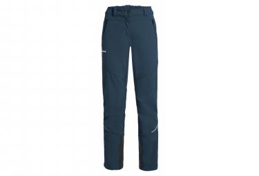 Pantalon Vaude Larice III Bleu Femme