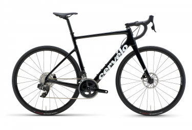 Bicicleta de carretera Cervélo Caledonia Disc Sram Rival eTap AXS 12V Negro Brillo 2022