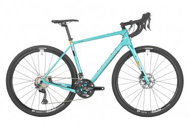 Gravel Bike Salsa Warbird Shimano GRX 11V 700mm Turquoise 2021