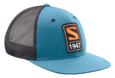 Gorra Salomon Trucker Flat Azul / Negro