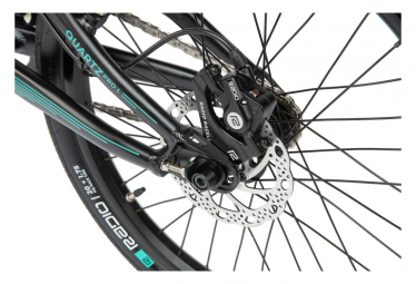 Radio Bikes Quartz BMX Race Mattschwarz 2021