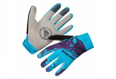Endura Windproof SingleTrack Handschuhe Electric blue
