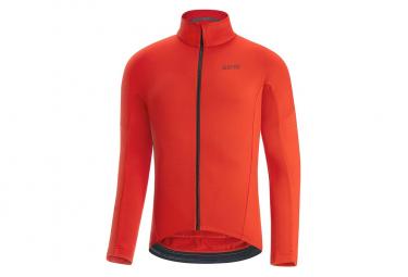 GORE C3 Thermo Long Sleeve Jersey Orange