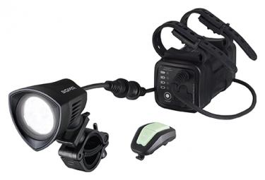 Fanale anteriore Sigma Buster 2000 HL nero