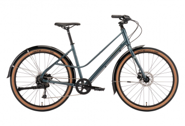 Bicicleta Urbana Kona Coco 650b Shimano Alivio / Acera 9V Brillo Metálico Dragonfly 2022