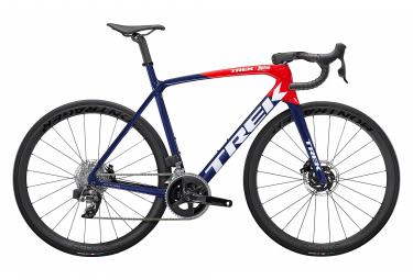 Vélo de Route Trek Émonda SLR 6 eTap Sram Rival eTap AXS 12V Navy Carbon / Viper Red 2022