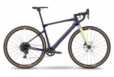 Bicicletta Gravel BMC URS One (Var 2) Sram Apex 1 11V 700 mm Blu Giallo 2022