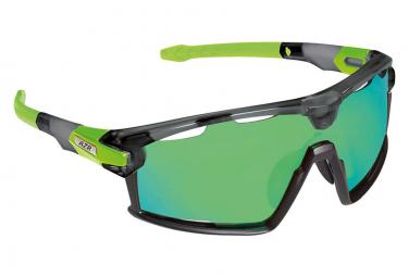 AZR PRO FLASH RX Glasses Black Green / Green Lens