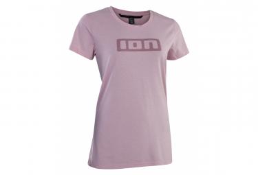 ION Logo DR Damen Kurzarmtrikot Rosa