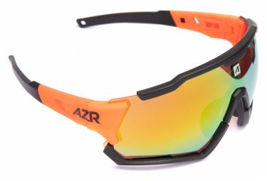 Lunettes AZR TRACK 4 RX Noir Orange