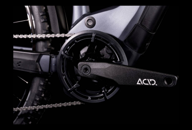 VTT Électrique Semi-Rigide Cube Reaction Hybrid Performance 625 Allroad Shimano Alivio 9V 625 Wh 29'' Gris Metallic 2022