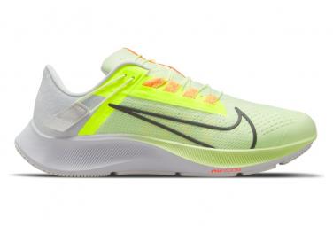 Nike Air Zoom Pegasus 38 FlyEase Yellow Orange Mens Running Shoes