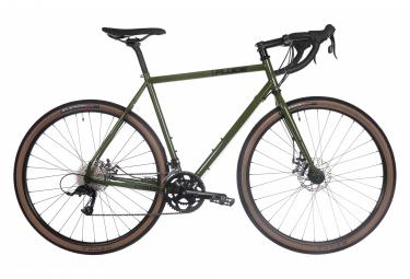 Fluid Cypress Expert Gravel Bike Sram Apex 10S 700 mm Green 2021