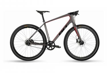 BH Silvertip Pro Sport City Bike Shimano Alfine 11V Cintura 700 mm Grigio / Rosso 2021