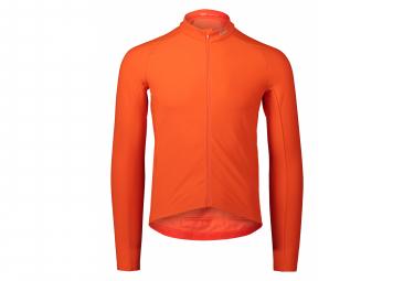 Maglia manica lunga POC Radiant Zink arancione