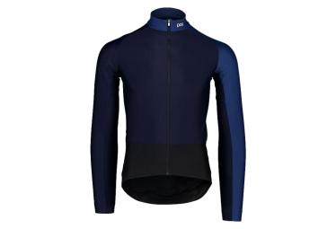 Maillot Manches Longues POC Essential Road Mid Turmaline Bleu