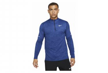 Haut manches longues 1/2 zip Nike Dri-Fit Element Bleu