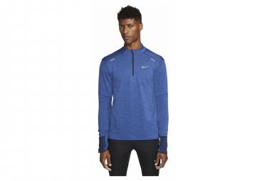 Haut 1/2 zip Nike Therma-Fit Repel Element Bleu