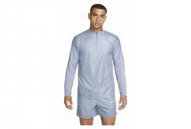Haut 1/2 zip Nike Dri-Fit Run Division Flash Element Bleu