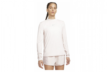 Maillot manches longues Nike Dri-Fit Run Division Rose Femme
